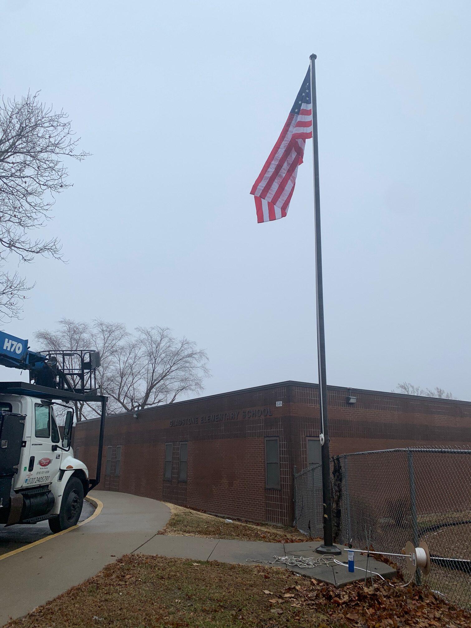 flagpoles, flagpole maintenance and repair
